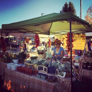 farmers market booth photo fall 2015