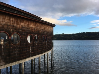 Community Center in Chiloe, Chile. Photo by Nella Mae Parks.