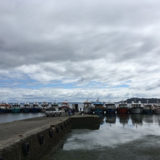 Marina in Chiloe, Chile. Photo by Nella Mae Parks.